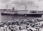貨客船「とうきょう丸」建造、東京航路に就航