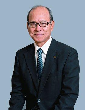 琉球海運株式会社 代表取締役社長 宮城 茂 写真