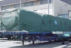 40呎附車斗拖車(蓬布)