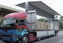 40呎側翼櫃(貨物積載)