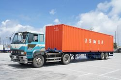 40F Trailer with Container