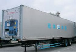40F Trailer with Refrigerated Container