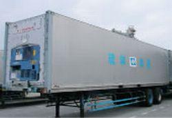 40呎貨櫃台車(冷凍櫃積載)