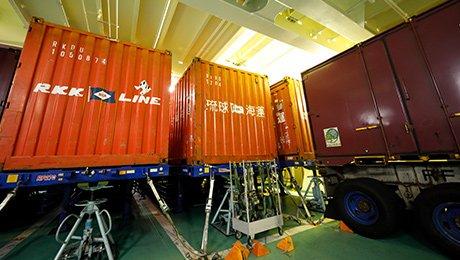 滾裝運送保護貨物