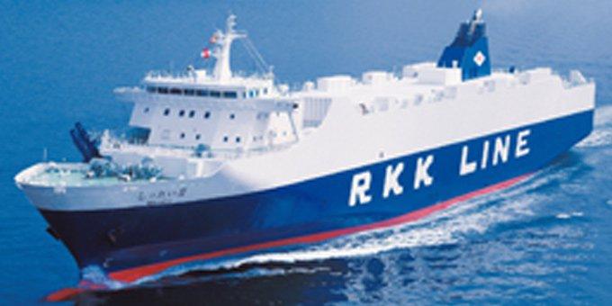 RO/RO船の特徴・強み
